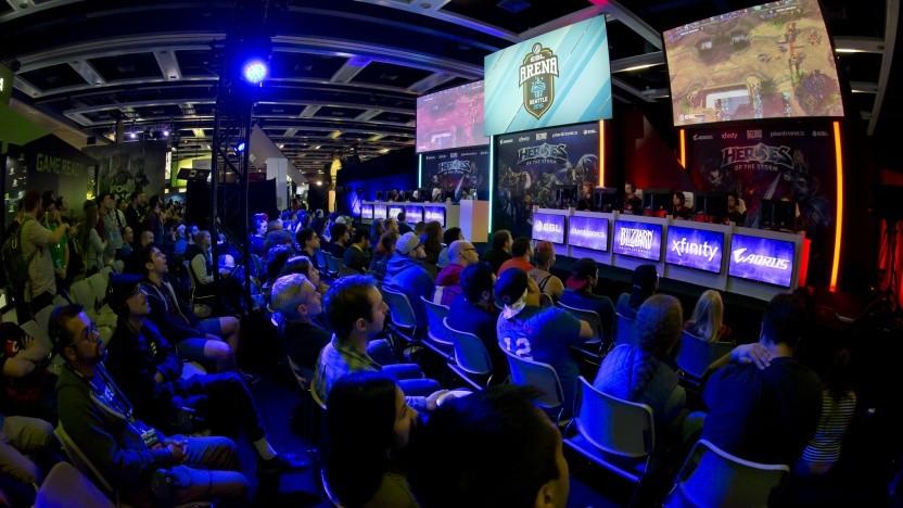 E-Sport-Veranstaltung der ESL