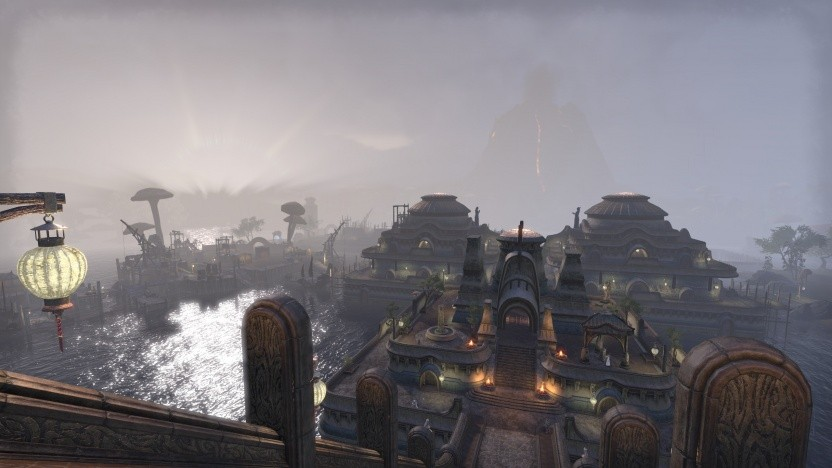 Vivec in Morrowind in The Elder Scrolls Online