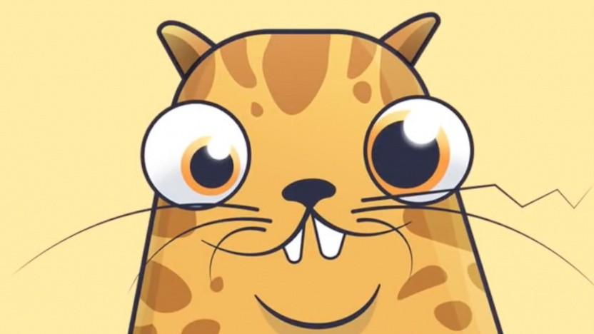 Katze in Cryptokitties