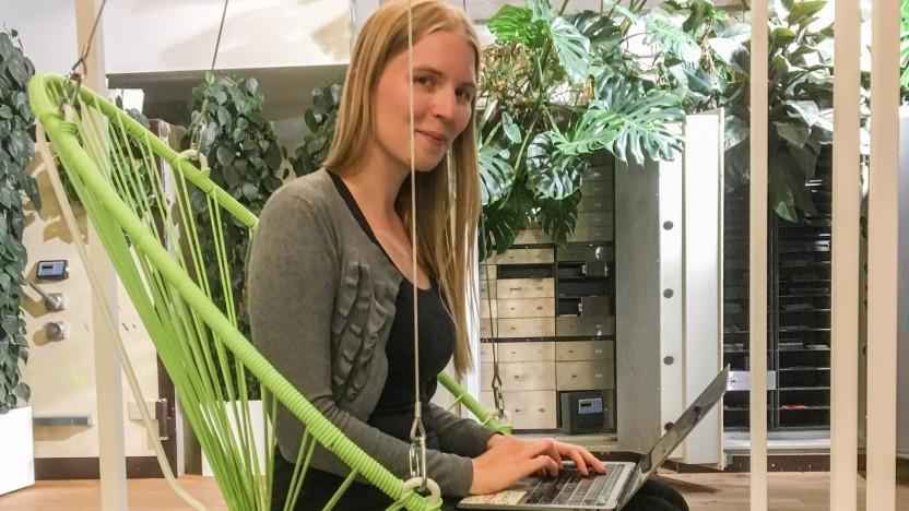 Die Chatbot-Linguistin Jenni Juvonen