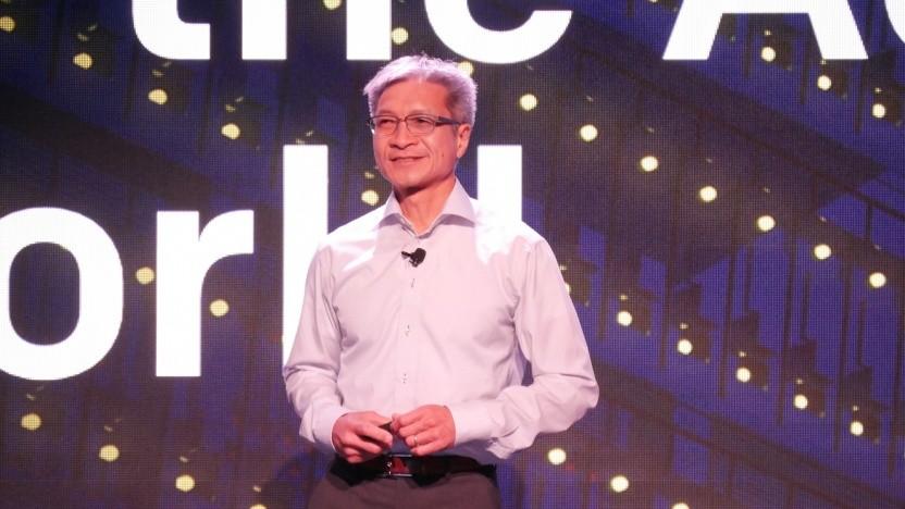 Xilinx-CEO Victor Peng bei seiner Keynote auf dem XDF