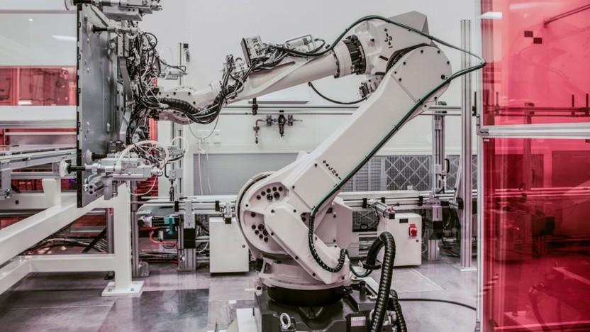Roboter wie diese können mit Windows 10 und ROS betrieben werden.