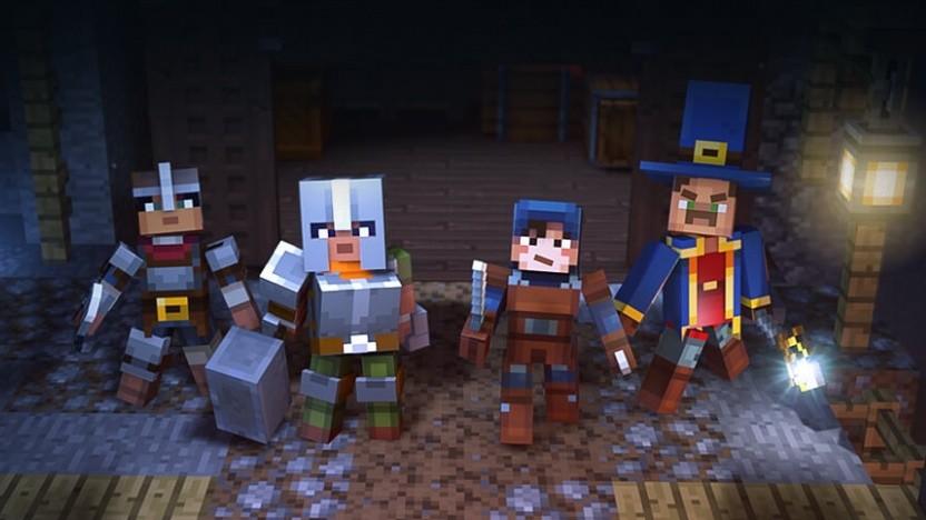 Artwork von Minecraft Dungeons