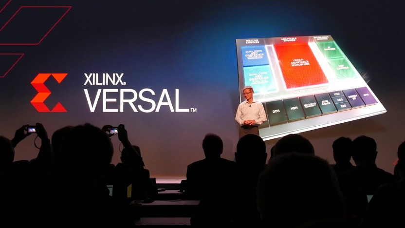 Xilinx-CEO Victor Peng stellt die Versal-FPGAs vor