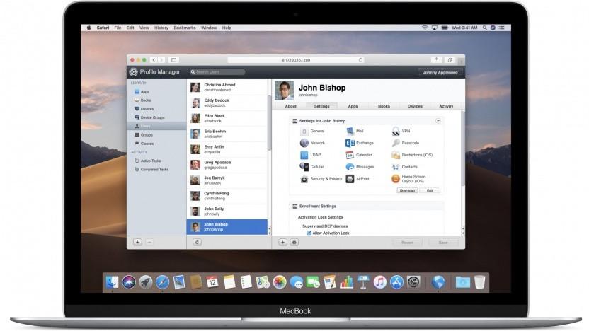 Betriebssystem: MacOS Server Mojave kaum noch brauchbar