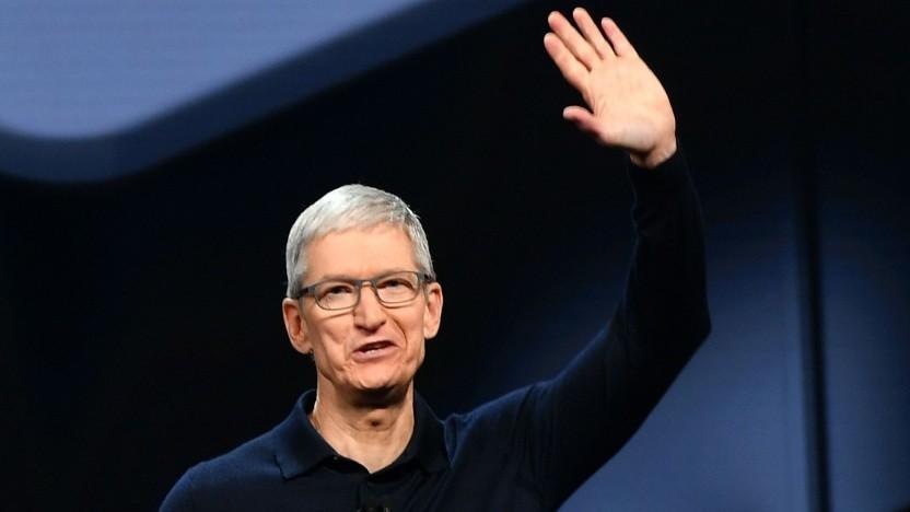Vorwurf: Kritische Mitarbeiter werden von Apple-Chef Tim Cook entlassen.
