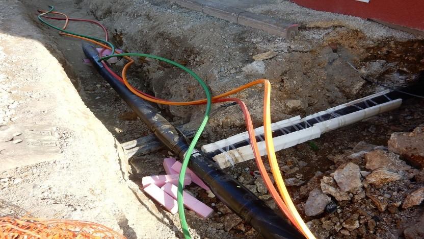 Kommunaler Glasfaserausbau