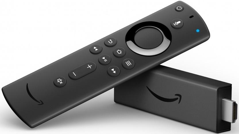 Fire TV Stick 4K erhält eine verbesserte Fernbedienung.