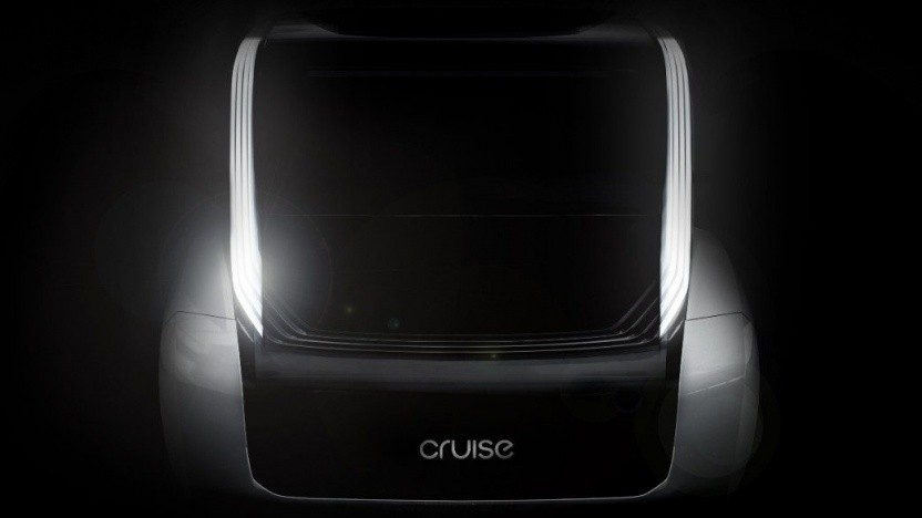 Teaserbild des autonom fahrenden Autos von Cruise