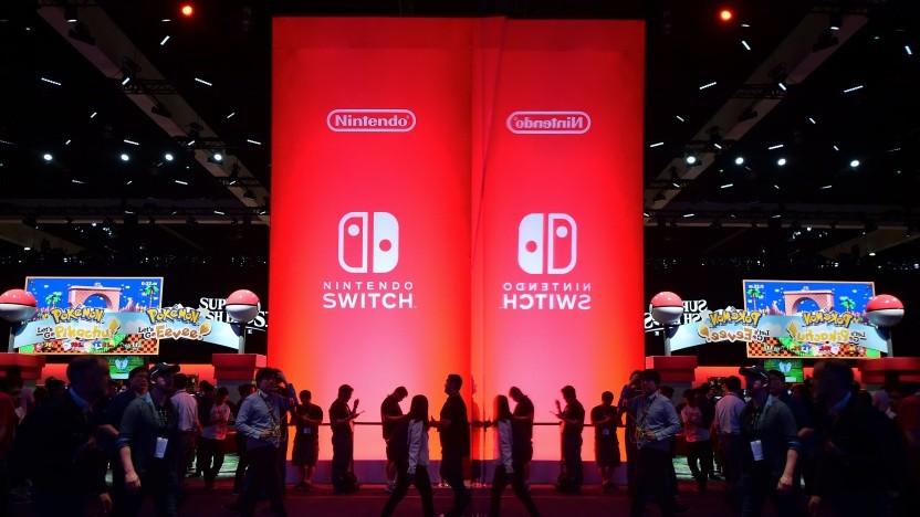 Nintendo Switch auf der Spielemesse E3 2018