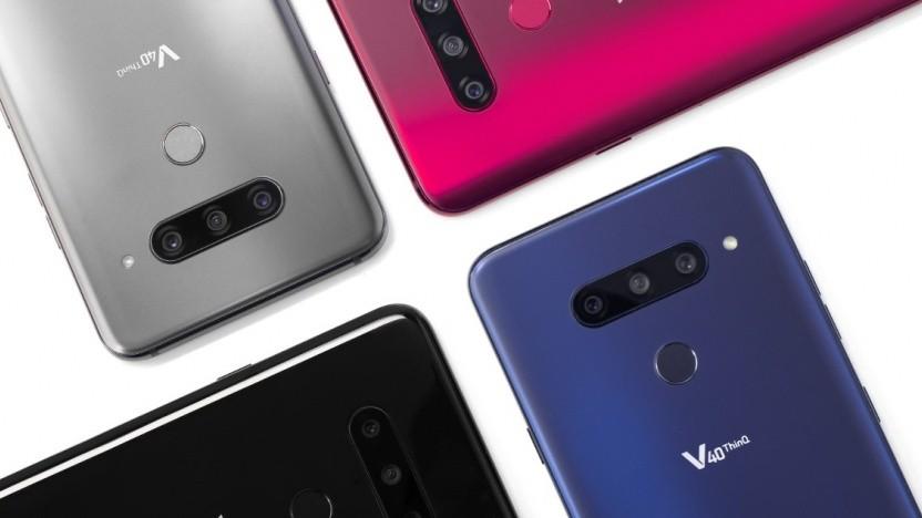 Das neue V40 Thinq von LG
