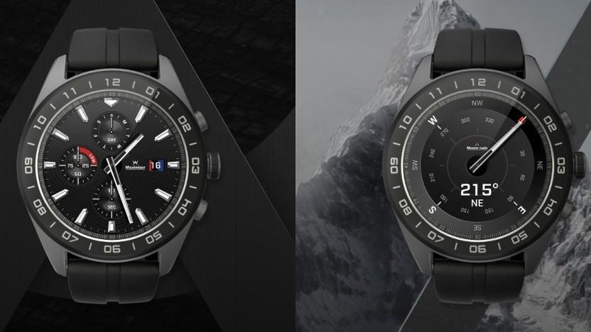 Die neue Watch W7 von LG