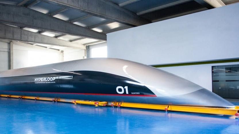 Hyperloop-Kapsel Quintero One: aus Marvel-Material gebaut