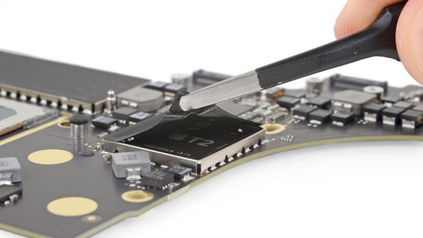 T2-Chip im MacBook Pro 2018