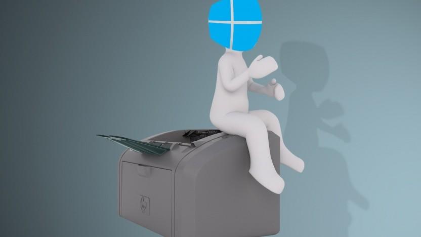 Druckertreiber werden künftig per Windows Update geladen.