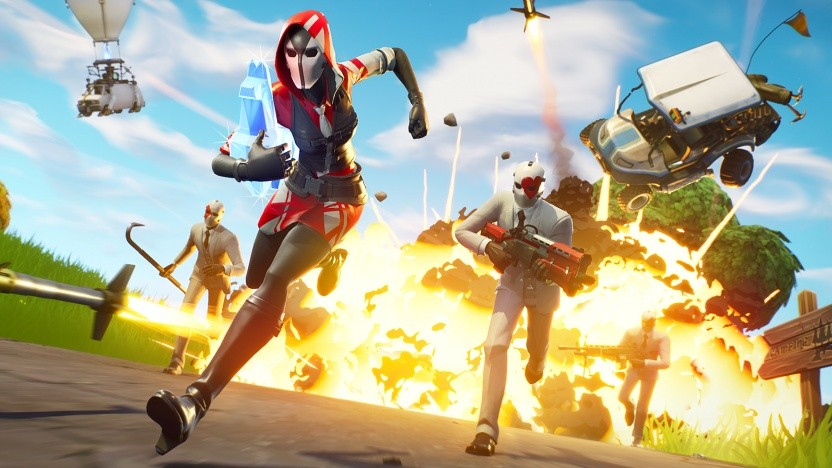 Artwork von Fortnite Battle Royale