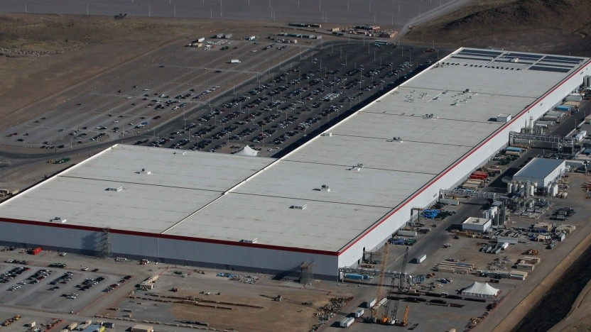 Teslas Gigafactory im US-Bundesstaat Nevada