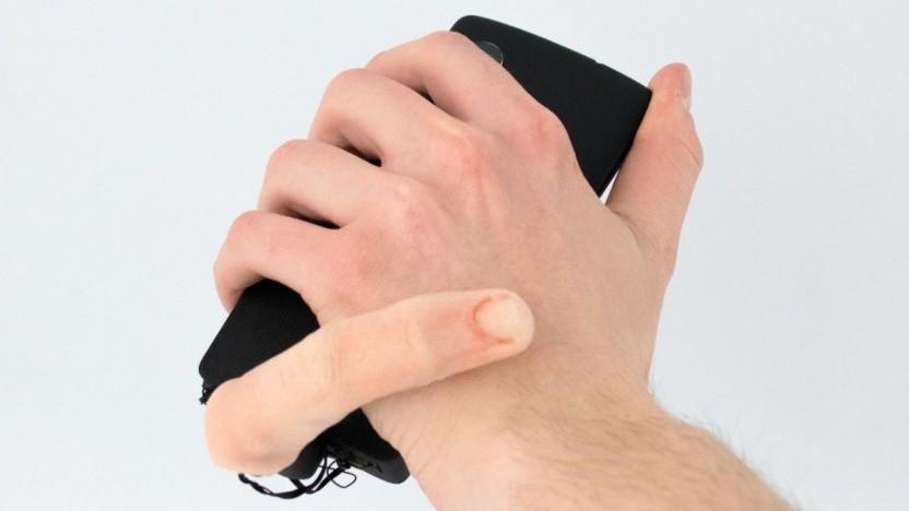 Der Roboterfinger Mobilimb im gruseligen Einsatz