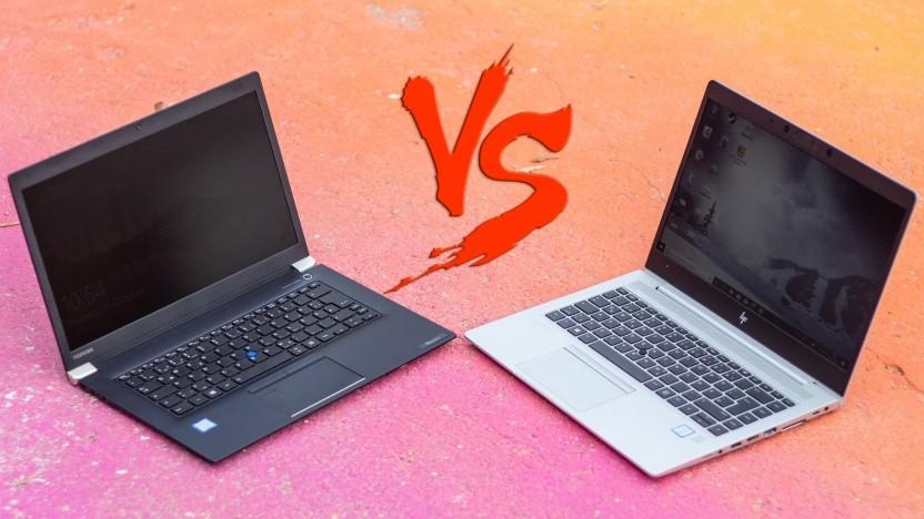 Im Test vergleichen wir zwei Business-Notebooks, die nicht Thinkpad heißen.