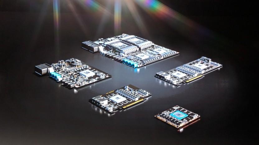 Unterschiedliche AGX-Plattformen auf einen Blick