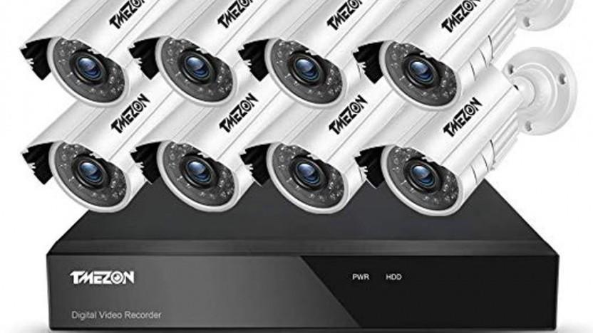 Von Xiongmai unter dem Label Tmezon verkaufte Überwachungskameras