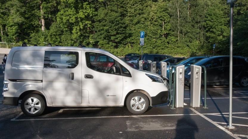 Elektroautos (Symbolbild): Gebühren für sauberes Fahren