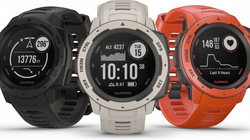 Artwork der Garmin Instinct
