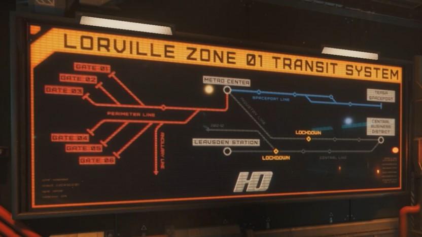 Zurückbleiben bitte: Statt KI und mehr Missionen bekommt Star Citizen eine U-Bahn.