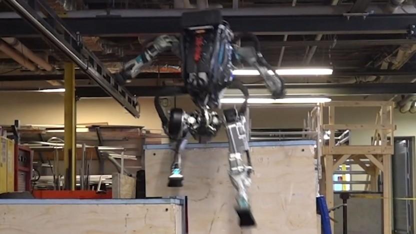 Humanoider Roboter Atlas: Was toppt einen Salto rückwärts?