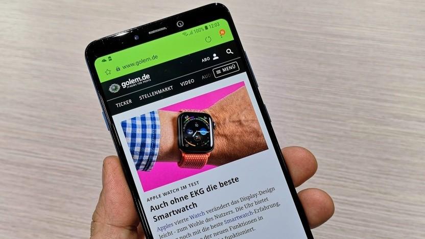 Das Galaxy A9 von Samsung