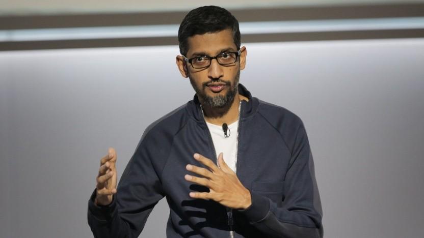 Google-Chef Sundar Pichai: Nicht in der Lage, detaillierte Fragen zu beantworten.