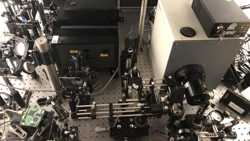 T-CUP-Kamera: Eine Billiarde Bilder pro Sekunde sind möglich.