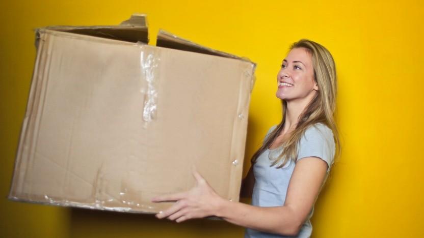 Paketlieferung (Symbolfoto)