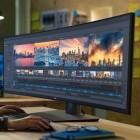 Dell UltraSharp 49: Gewölbtes Display mit 1,2 Metern Länge für den Schreibtisch