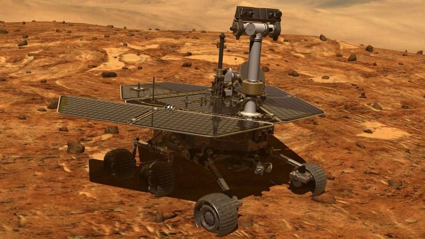 Marsrover Opportunity: Kälte kann dem Rover schaden.