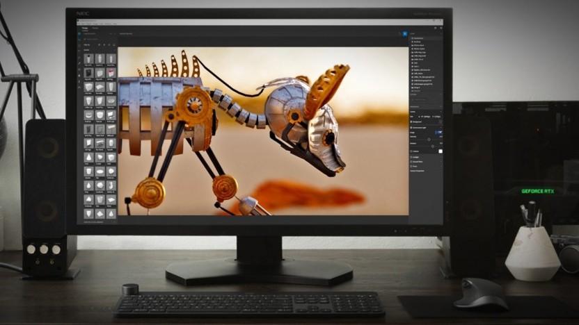 Mit Adobe Dimension CC gerendertes Produktbild
