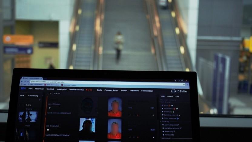 Das Überwachungssystem der Bundespolizei am Bahnhof Südkreuz