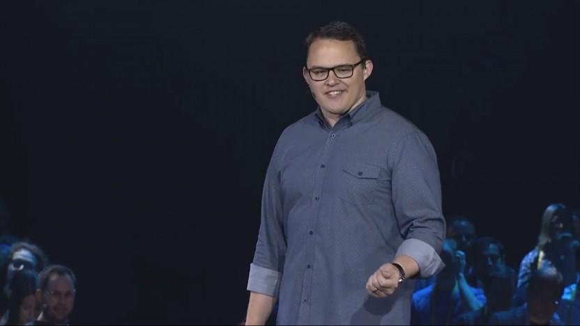 Kyle Daigle von Github stellt die Github Actions auf der Universe-Konferenz vor.