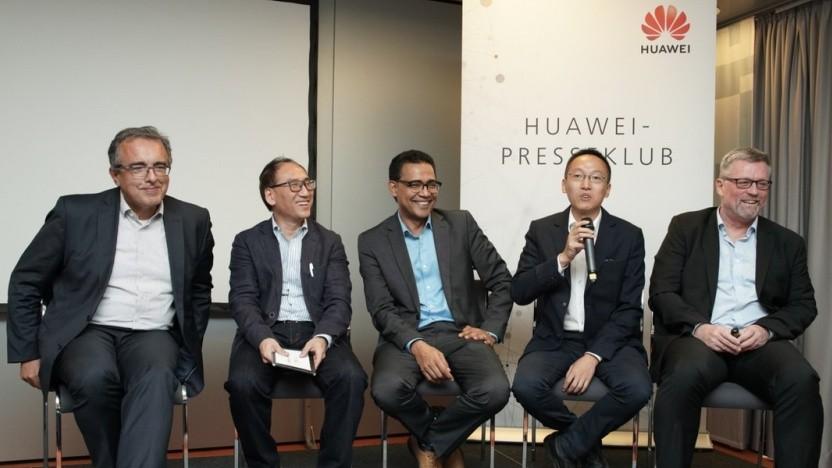 Der chinesische Netzwerkausrüster Huawei ist Partner von allen drei in Deutschland aktiven Mobilfunkbetreibern.