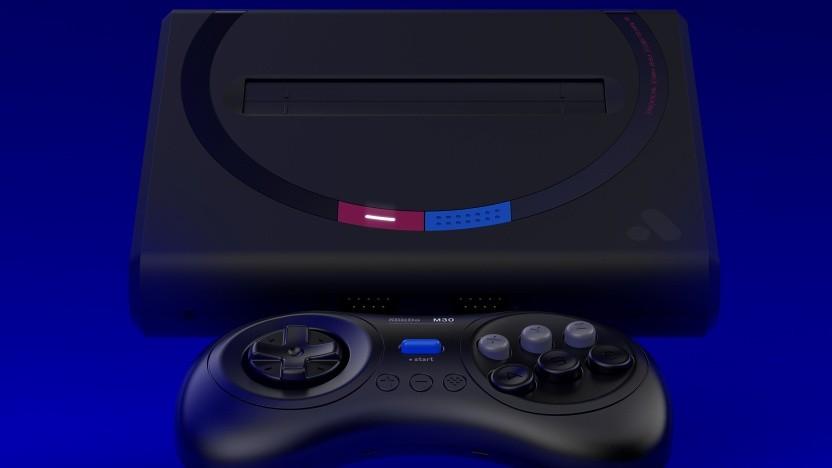 Der Mega Sg mit 8BitDo-Controller