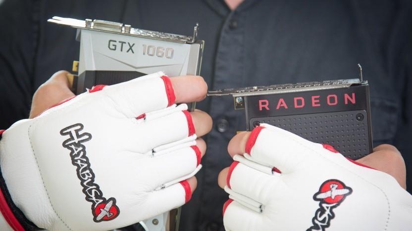 Geforce GTX 1060 gegen Radeon RX