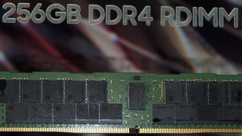 Ein DDR4-Modul mit 256 GByte