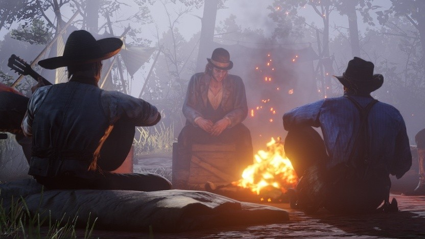 So gemütlich wie in dieser Szene von Red Dead Redemption 2 geht es bei Rockstar Games wohl eher nicht zu.