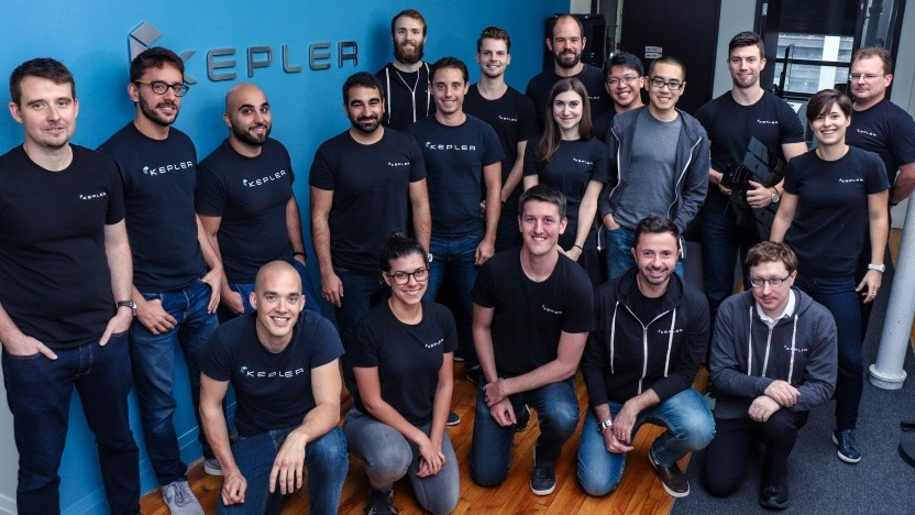 Das Team von Kepler Communications