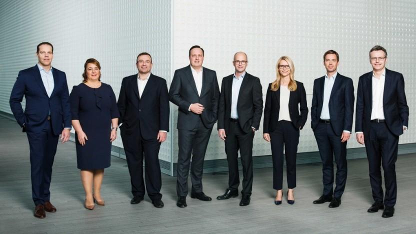 Der Vorstand der Telefónica Deutschland