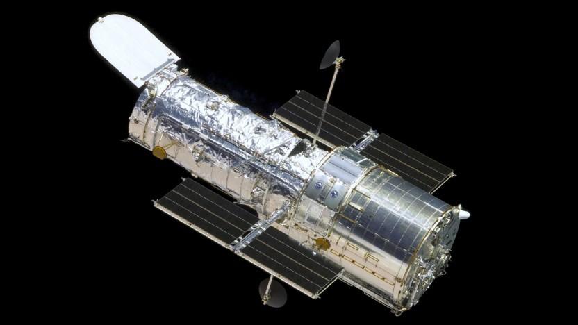 Hubble space telescope: kreiseltraining im weltall golem.de