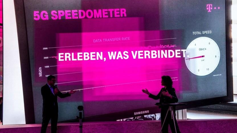 Die Telekom macht bereits 5G in Berlin.