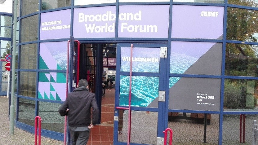 BBWF (Broadband World Forum) in Berlin