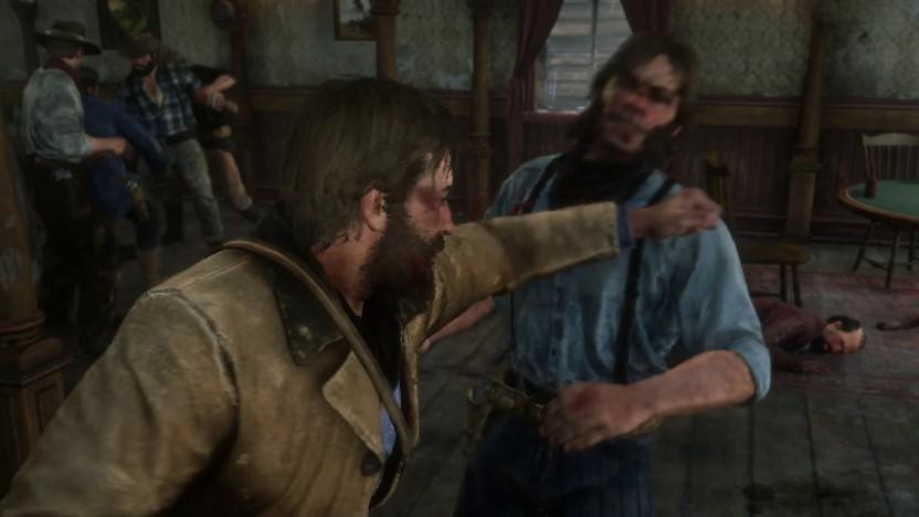 Saloon-Prügelei in Red Dead Redemption 2