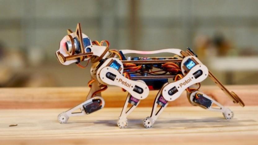 Streicheln ist bei diesem Roboter eher nicht möglich.